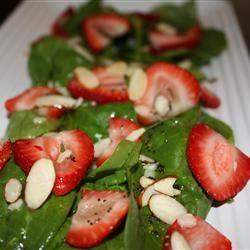 Spring Strawberry Spinach Salad footballgrl16
