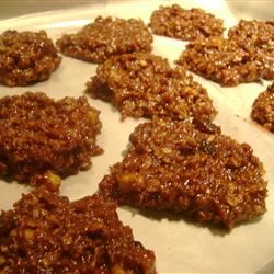 Unbaked Chocolate Oatmeal Cookies floridascrubtech