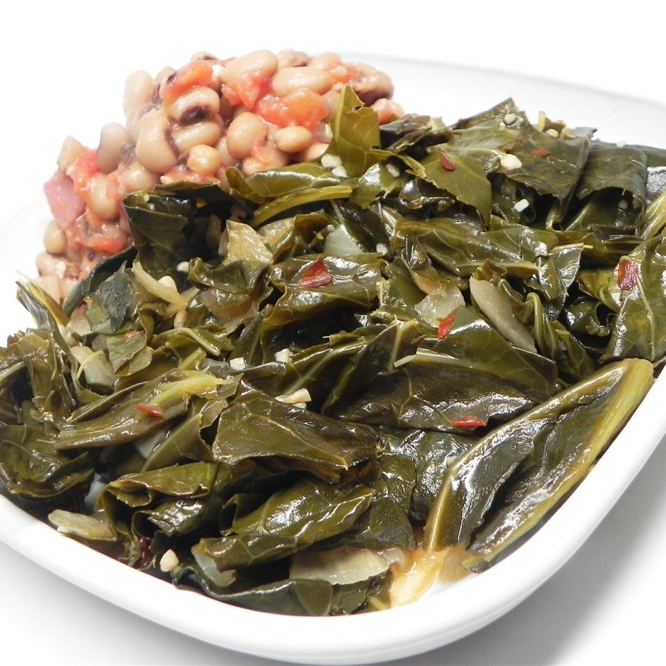 Smoky Vegetarian Collard Greens