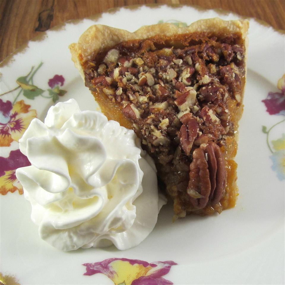 Pumpkin Pecan Pie III image