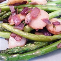 Asparagus and Water Chestnuts CATJENKINS
