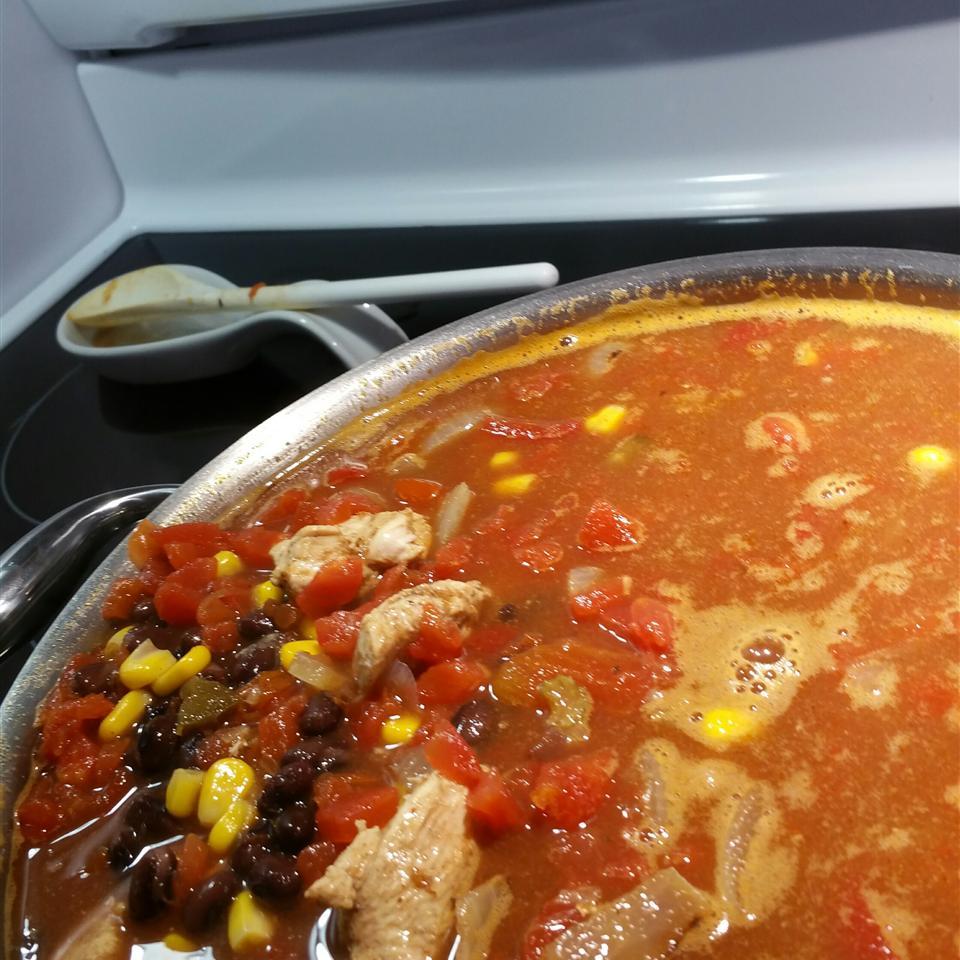 Southwest Black Bean Chicken Soup Bagatin