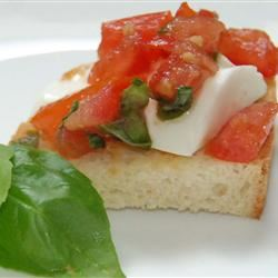 Double Tomato Bruschetta SavedByGrace