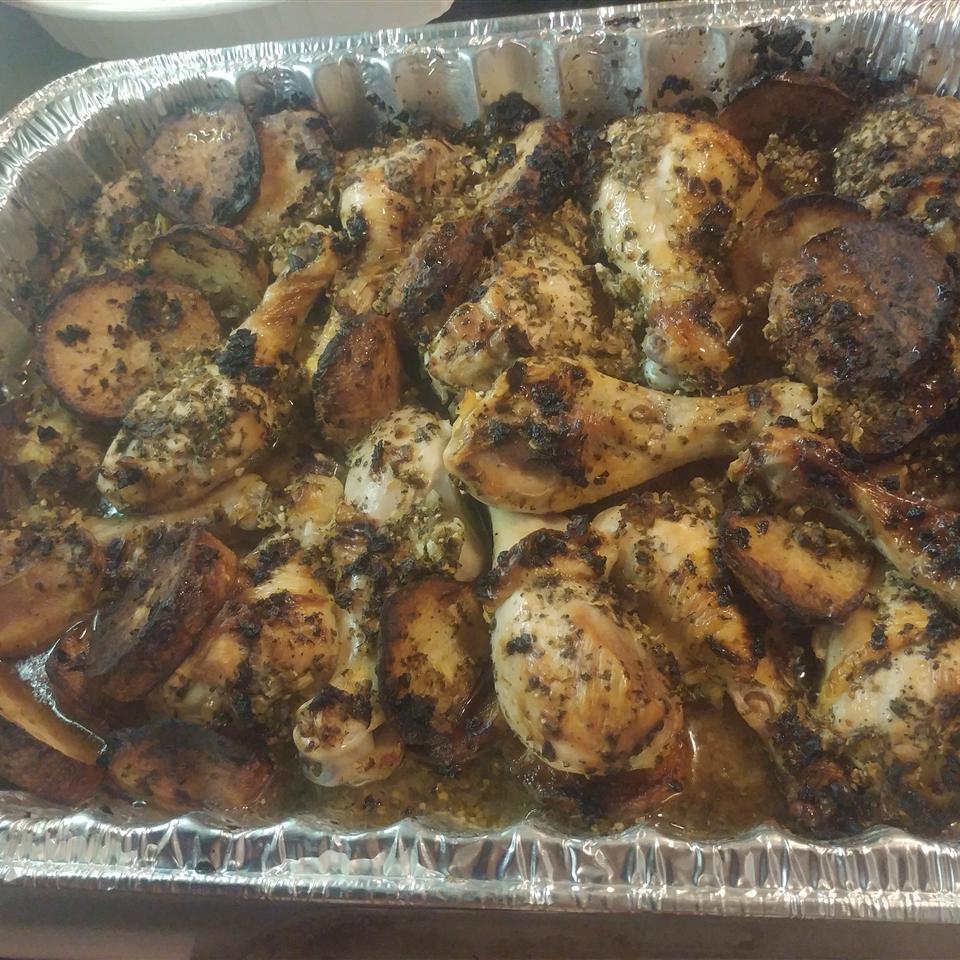 Italian Chicken with Garlic and Lemon Alberto Munoz