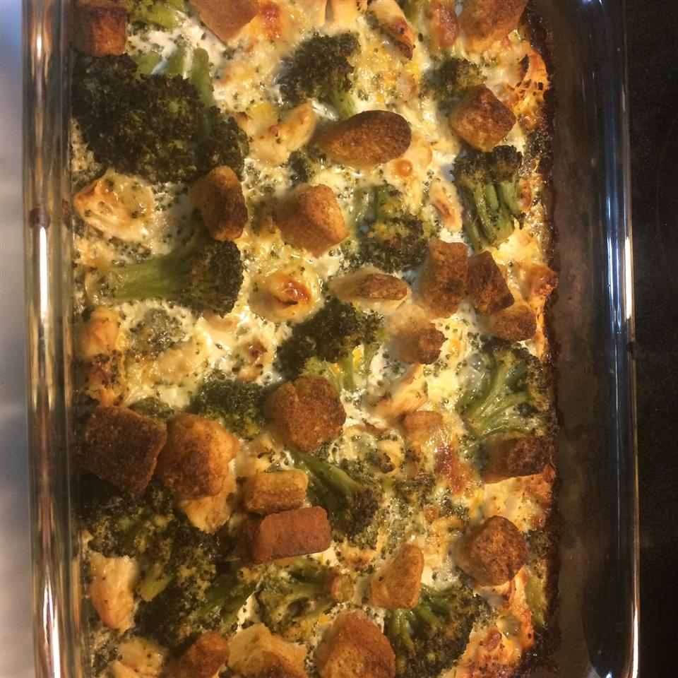 Cheddar Broccoli and Chicken Casserole from Country Crock® Karen Denise Centeno