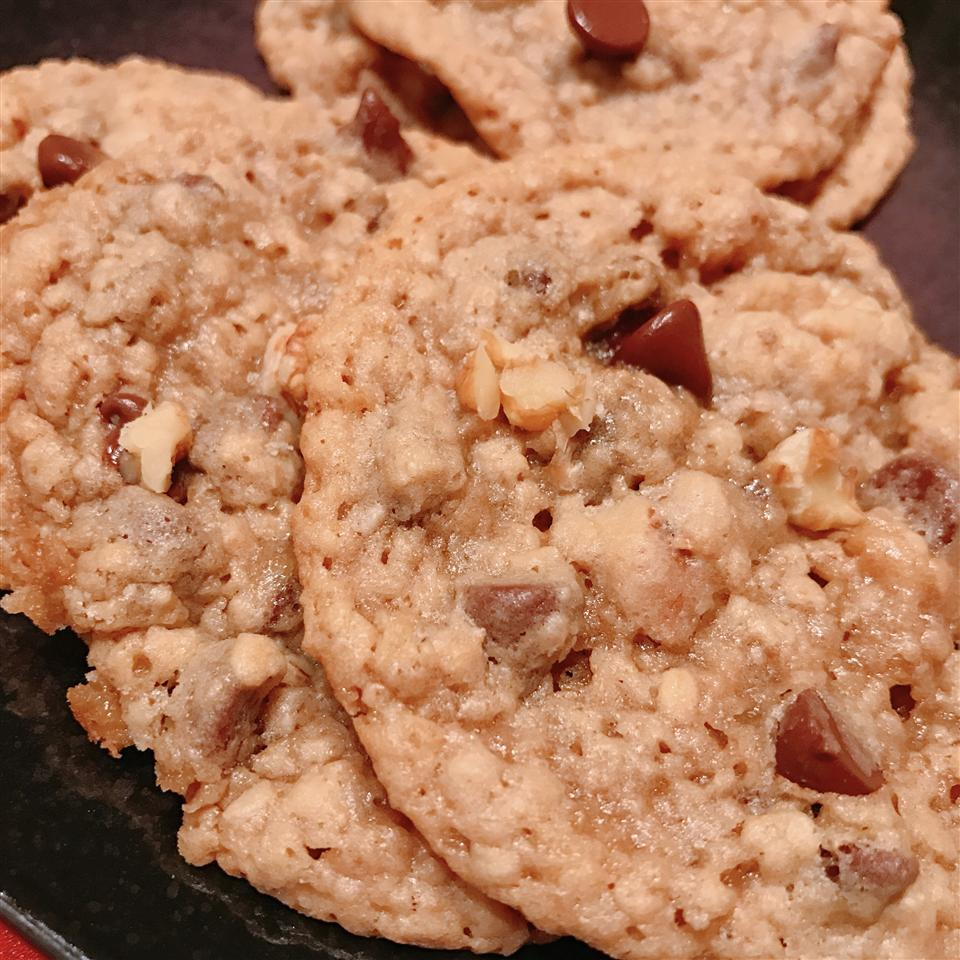 Nutty Chocolate Chip Cookies J. Gray
