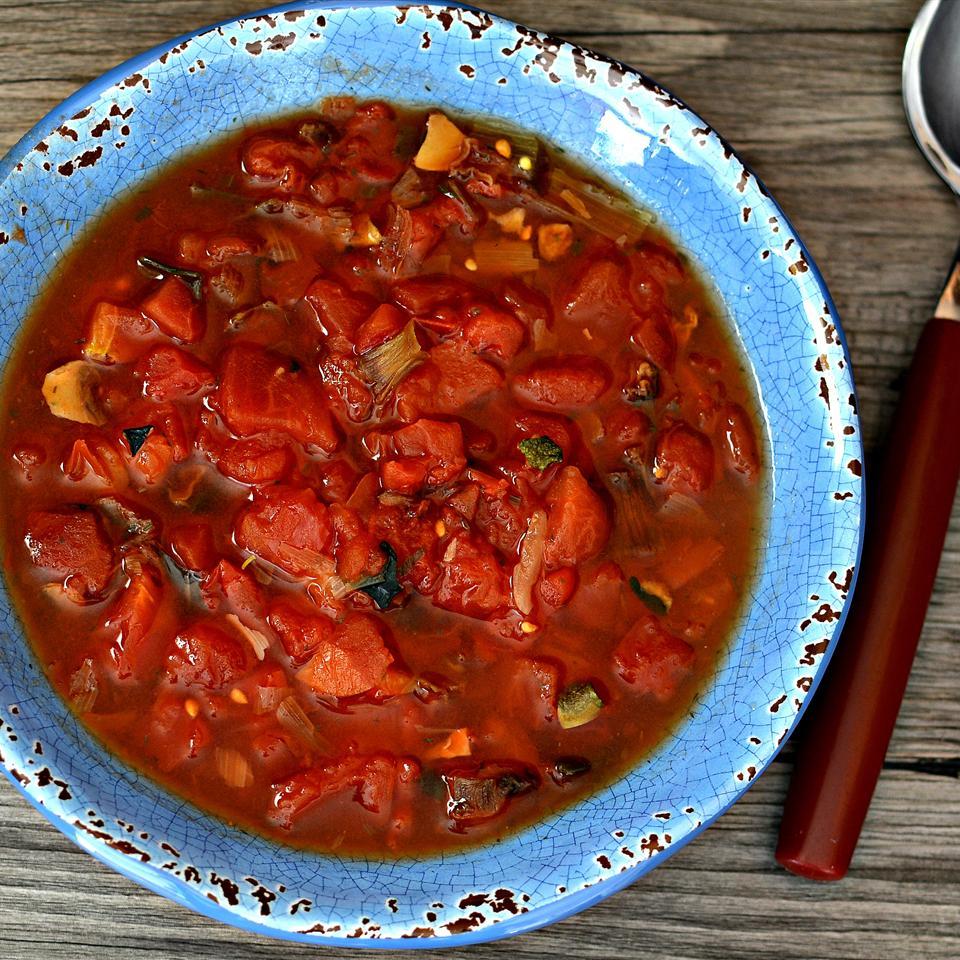 Ryan's Quick Tomato Vegetable Soup