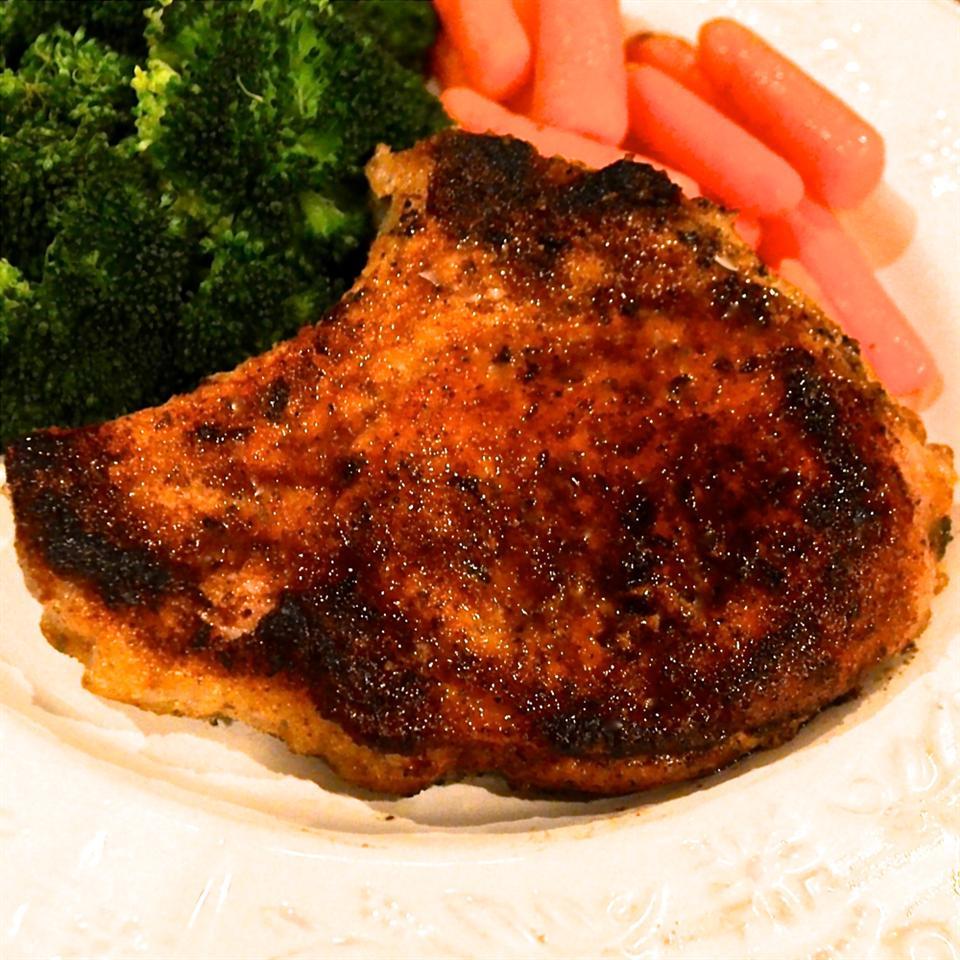 Fabulous Gluten-Free Fried Pork Chops Bibi