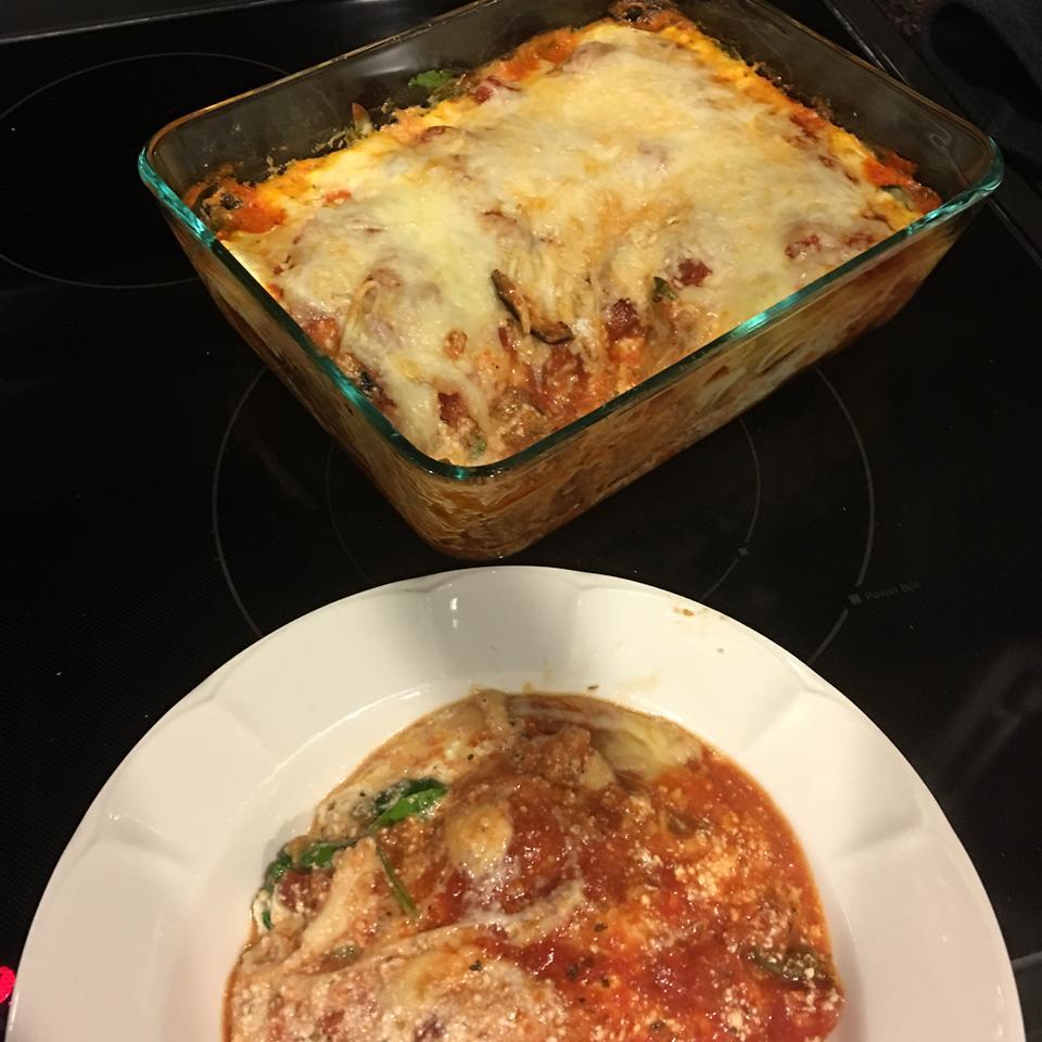 Roasted Eggplant Lasagna Family<3
