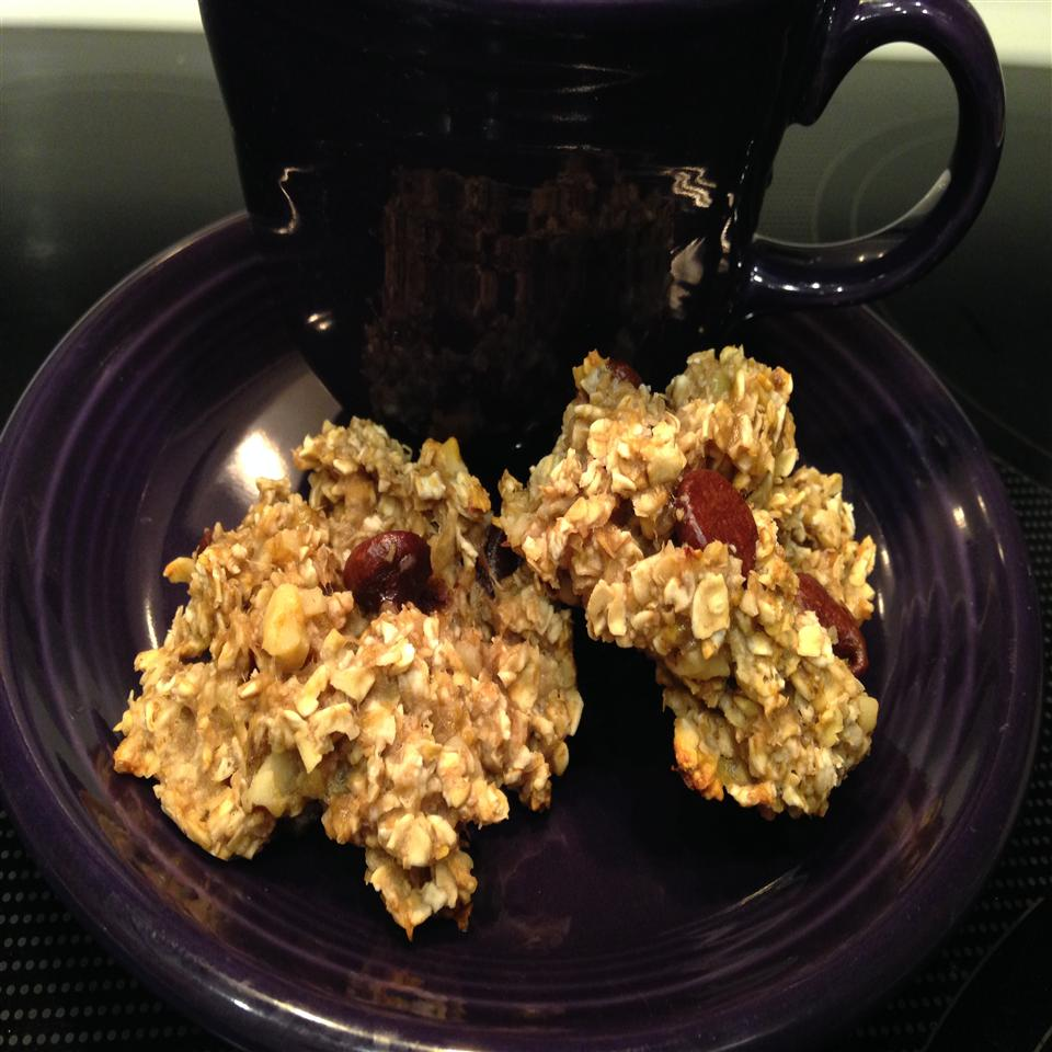 Easy Oatmeal-Banana Breakfast Cookies
