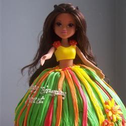 Barbie Doll Cake sugarbean