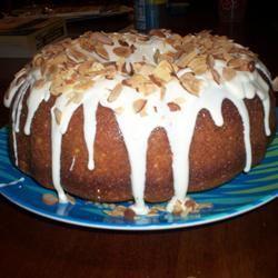 White Chocolate Amaretto Cake Missie Wallace Petersen