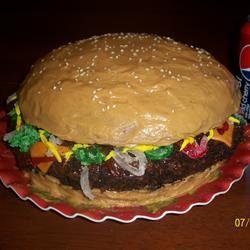 Hamburger Cake motherharr