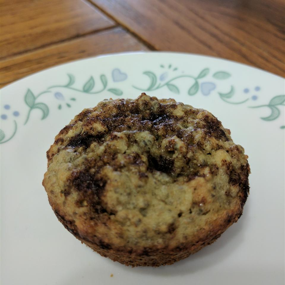 Blueberry Oatmeal Chia Seed Muffins Rorie Lizenby