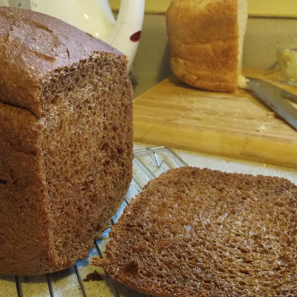 Bread Machine Pumpernickel Bread Ann Davis
