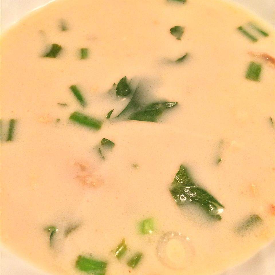 Thai Ginger Soup Claire Baggett