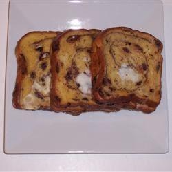 Cinnamon Raisin Stuffed French Toast Tracy