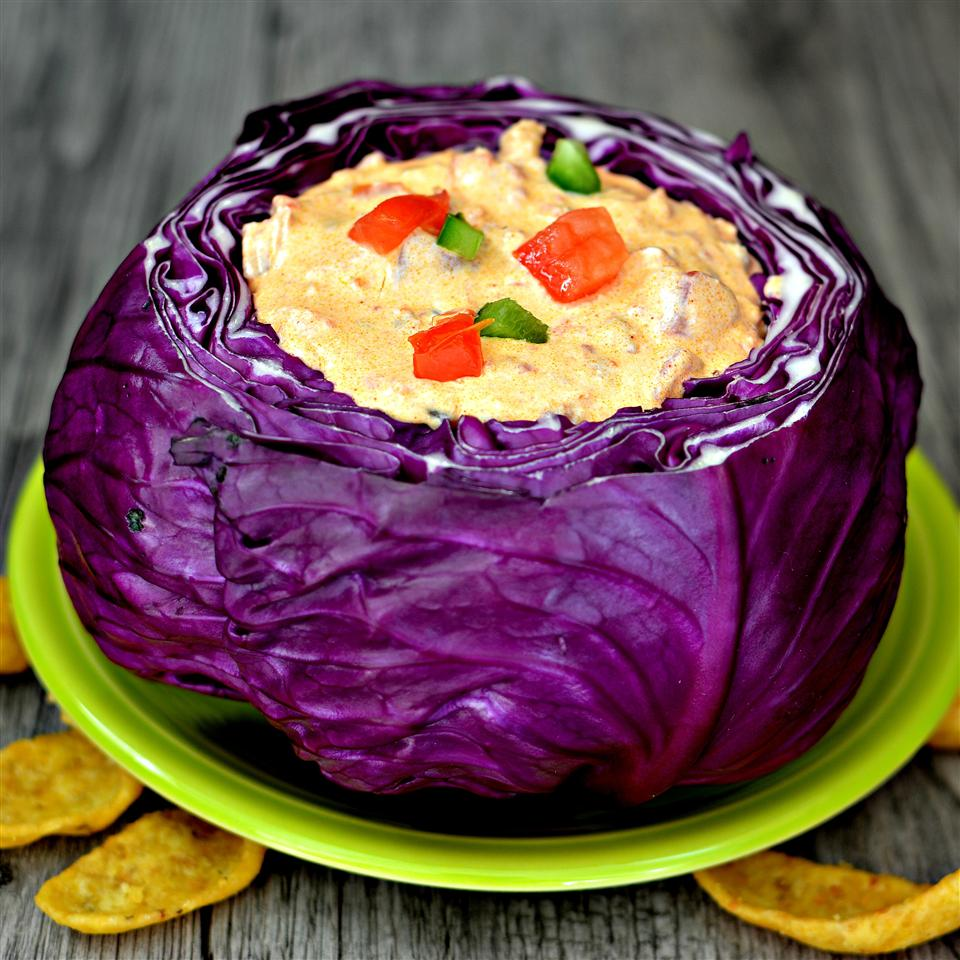Edible Red Cabbage Bowl
