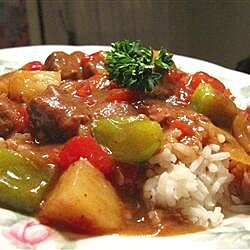 slow cooker island beef recipe