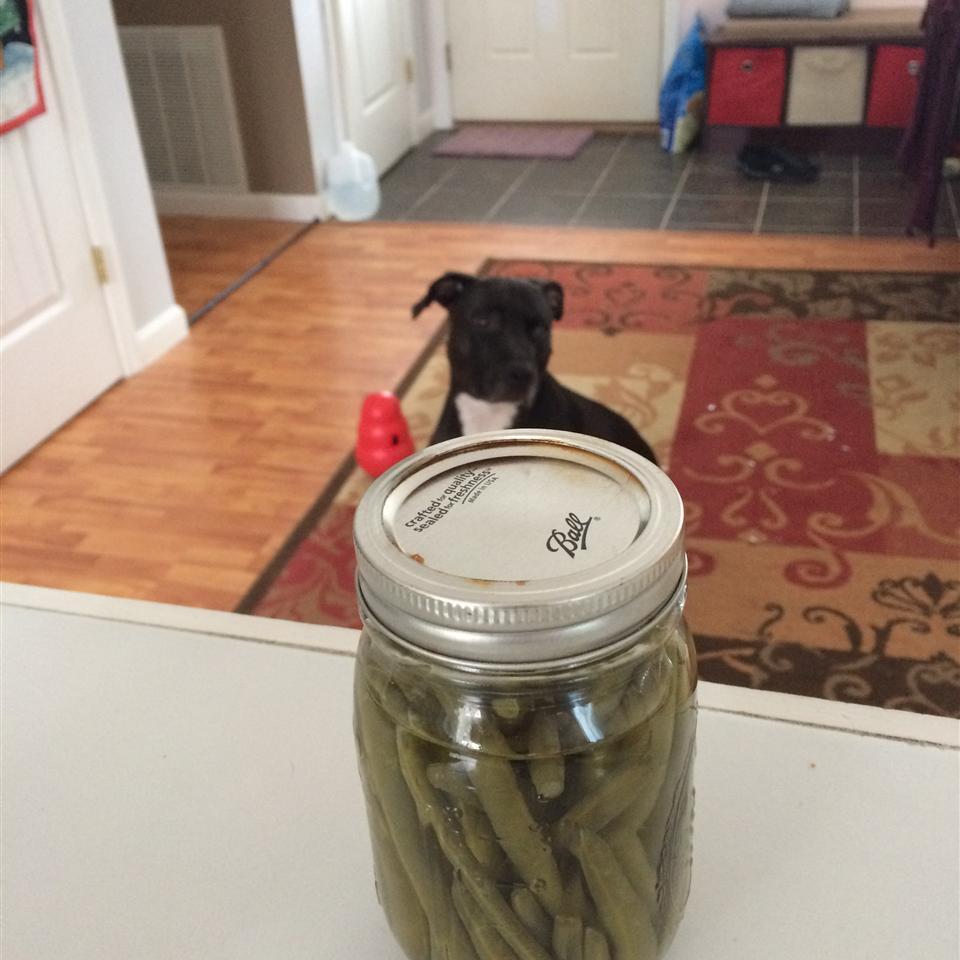 Crisp Pickled Green Beans Sarah Juhlin