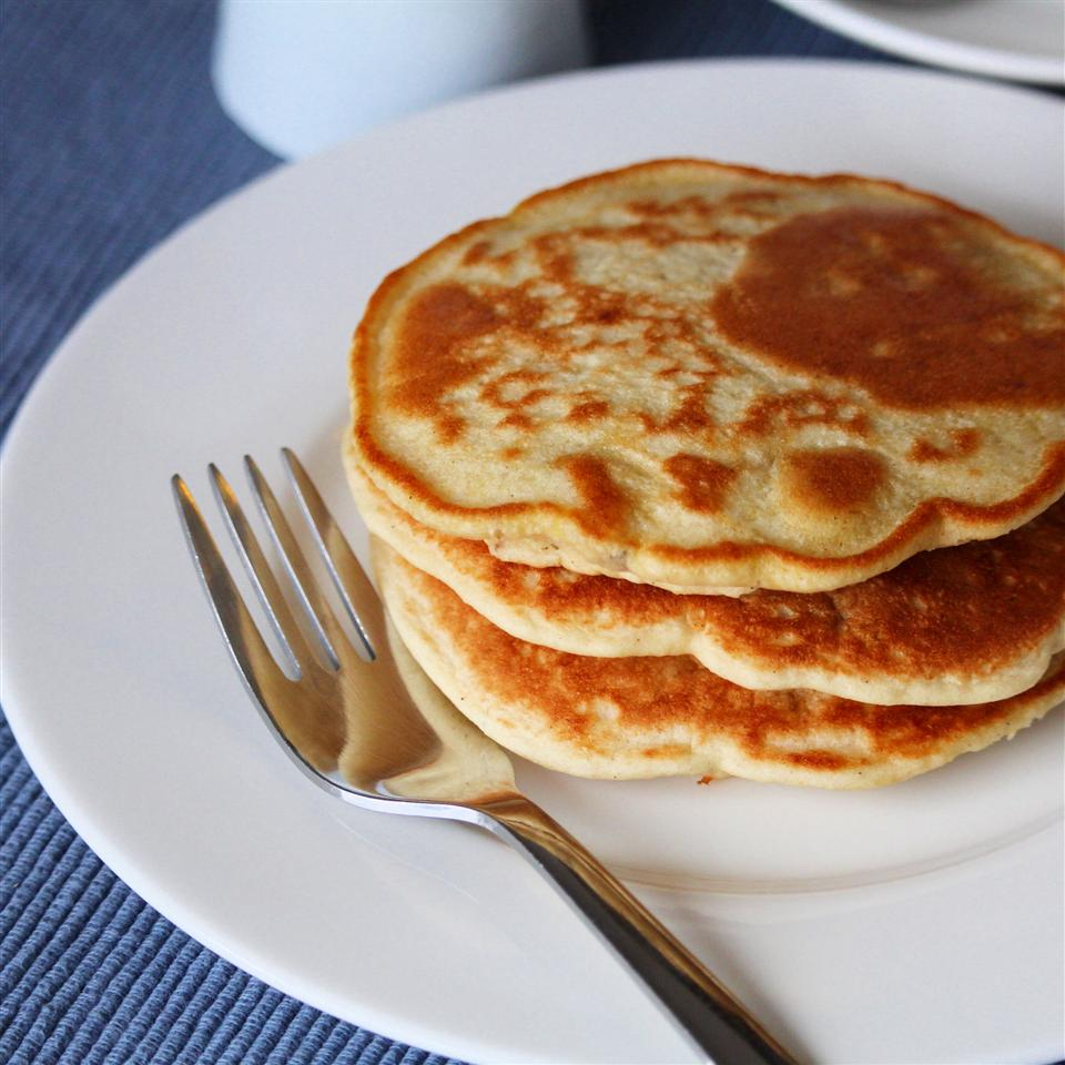 """""""I have been trying different paleo pancake recipes for months and am now happy to say my search is over. I made these this morning, and they are awesome! Light, fluffy, and tasty."""" — BobbyD"""
