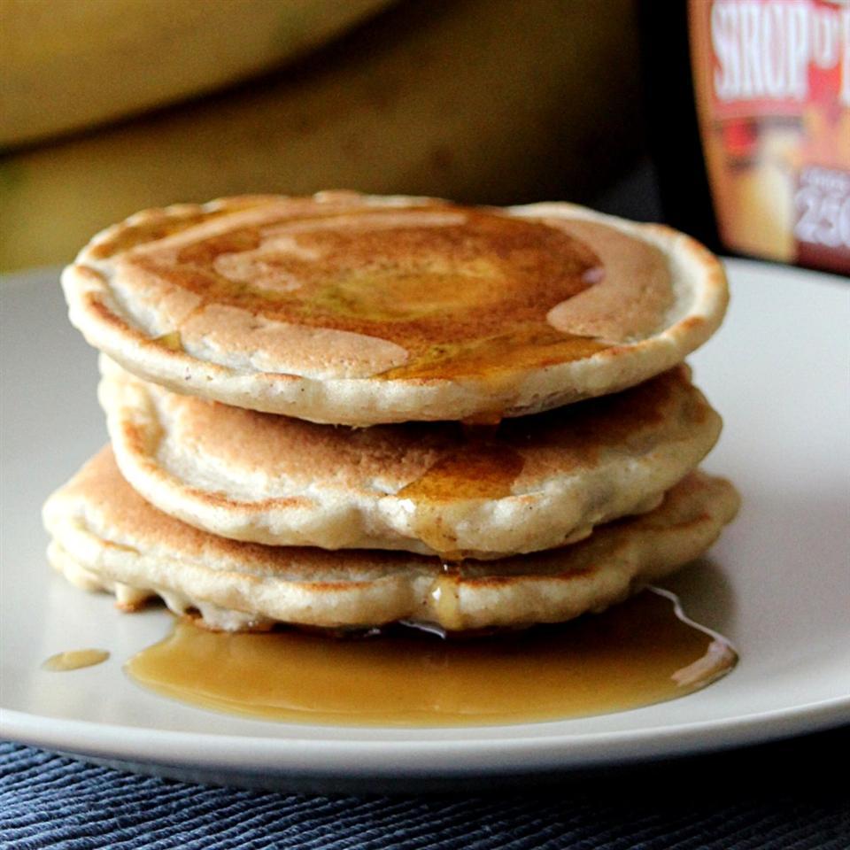 Healthy Freezer Pancakes