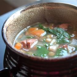 Spinach Lentil Soup Gina Sullivan