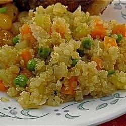 vegetable quinoa pilaf recipe
