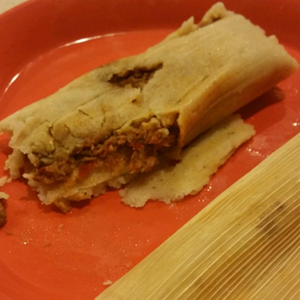 Sylvia's Pork Tamales Gina