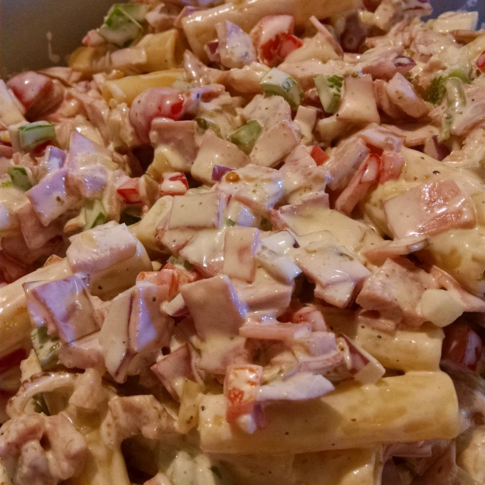 Awesome Ham Pasta Salad Lois Keel