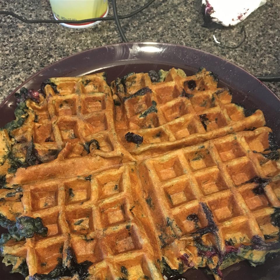 Blueberry Flavored Waffles Matthew Boisseau