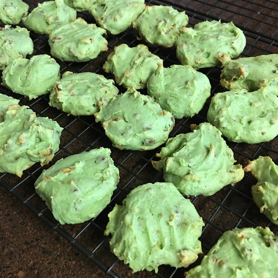 Saint Patrick's Pistachio Cookies Maria Kossakowski