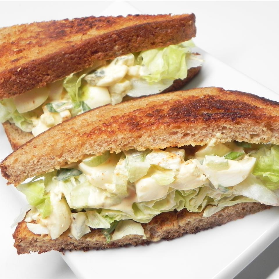 Pickled Egg Salad Sandwich