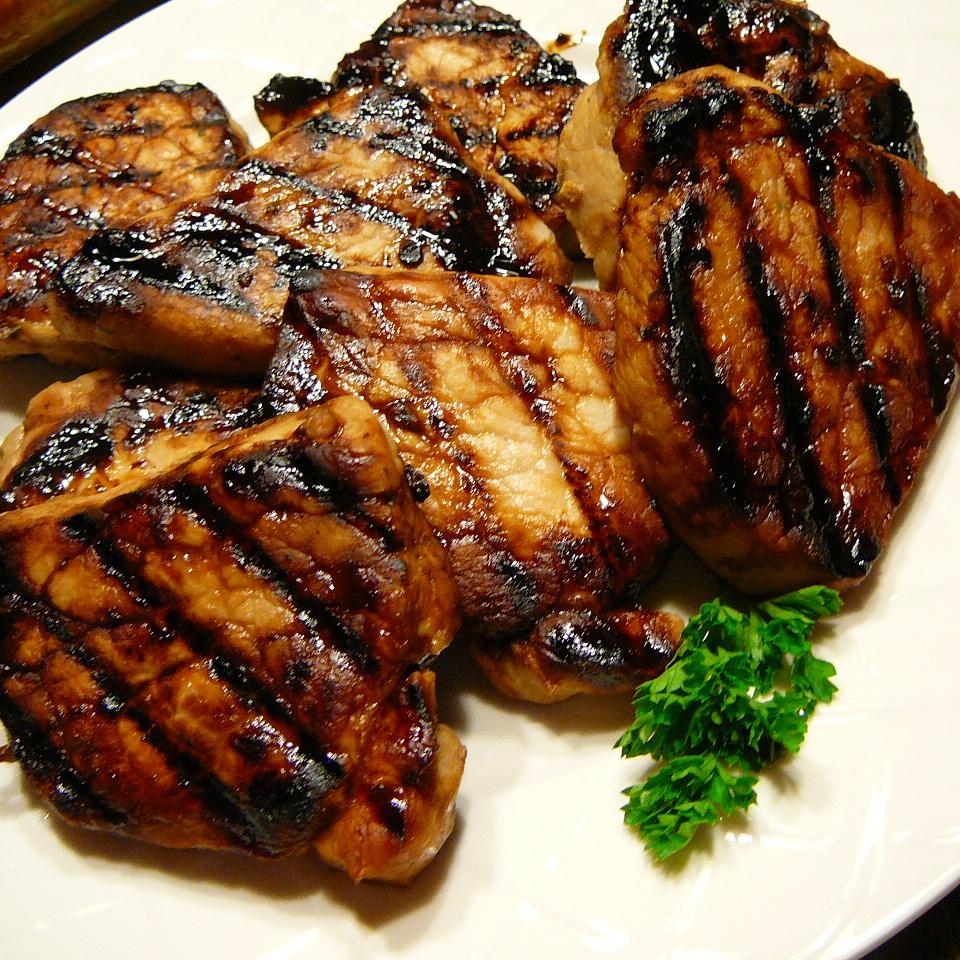 Sheila's Grilled Pork Tenderloin