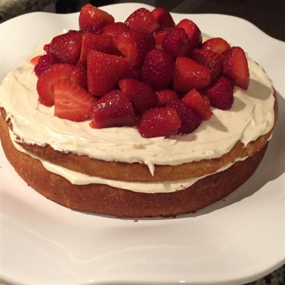 Victoria Sponge Cake Bebe Garcia