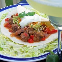South Texas Carne Guisada Kristi Goulette Lozensky