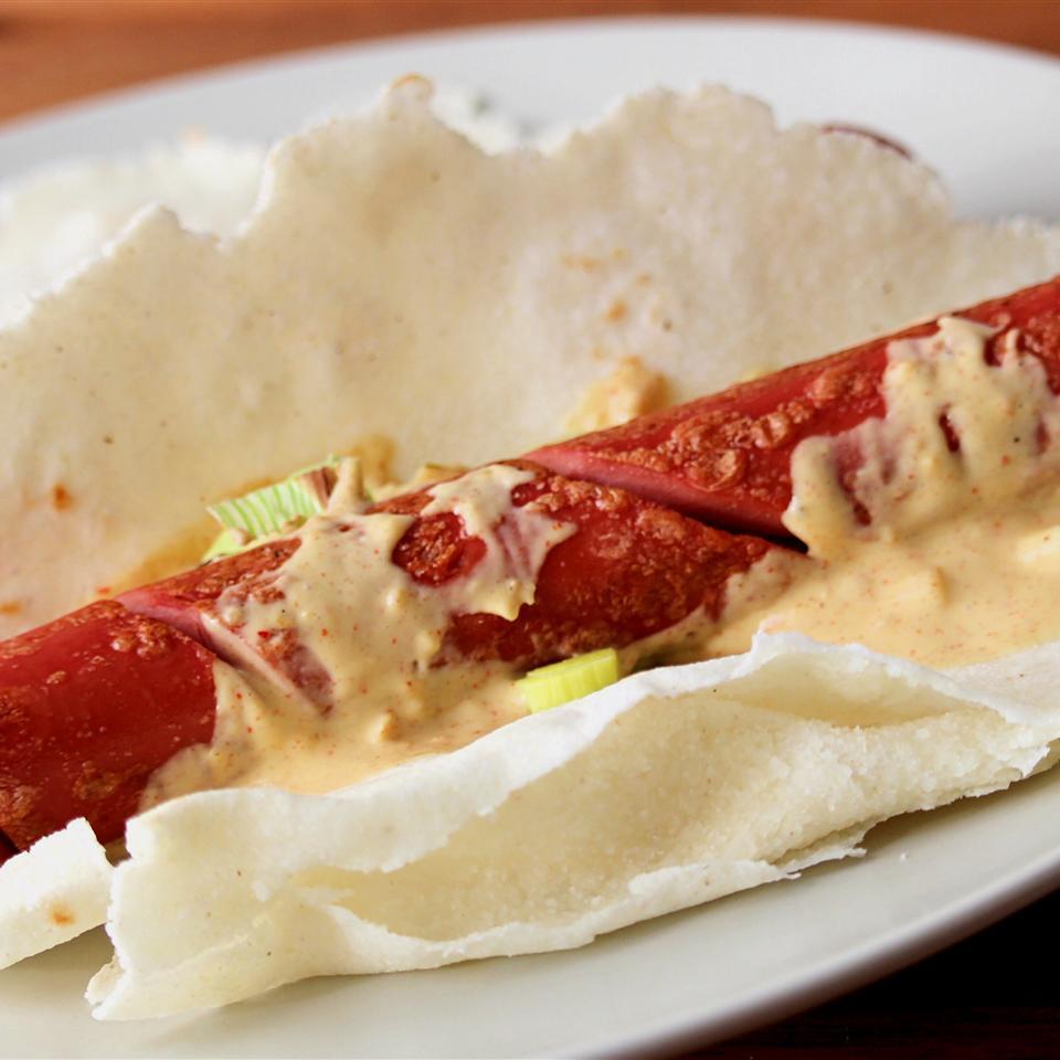 Spiral-Cut Hotdogs