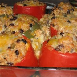 Millet-Stuffed Peppers tellab1
