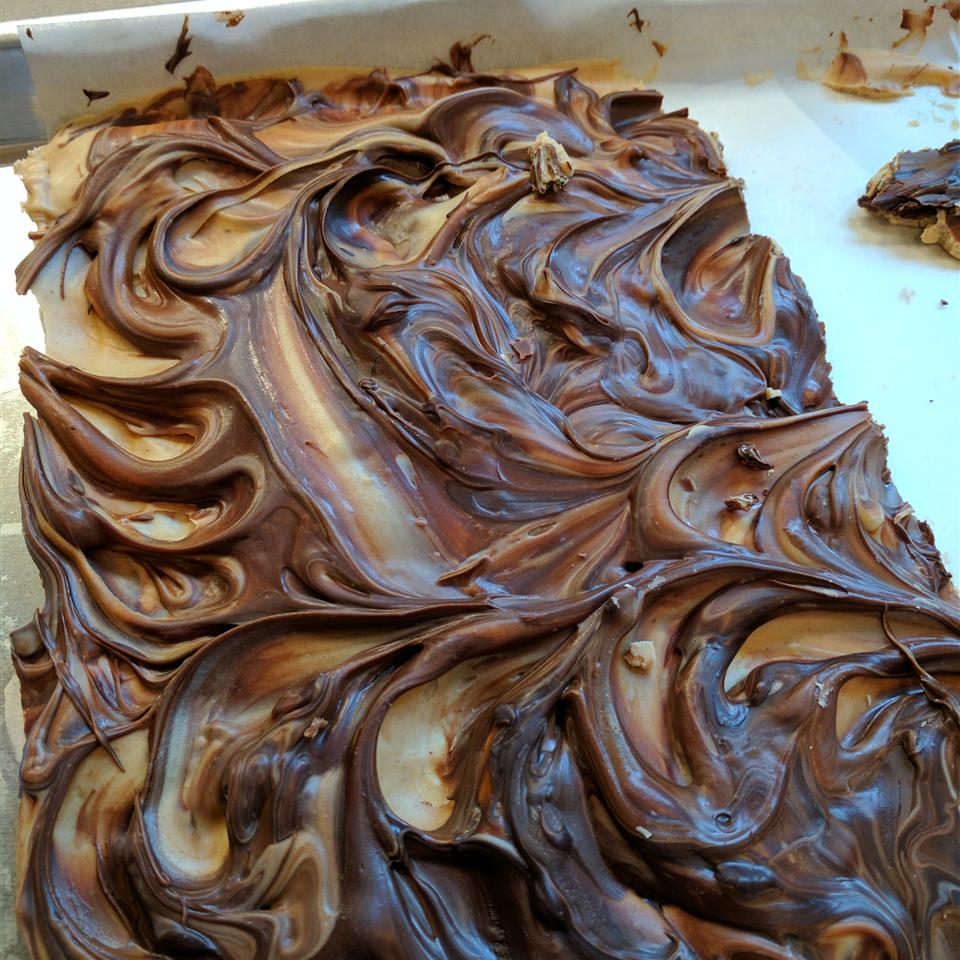 Peanut Butter Chocolate Bark Julie
