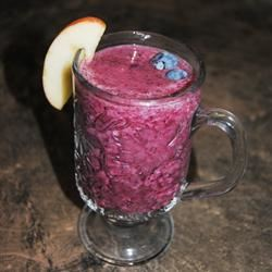 Delicious Blueberry Smoothie Abby