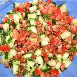 Fava Bean Salad CathyT