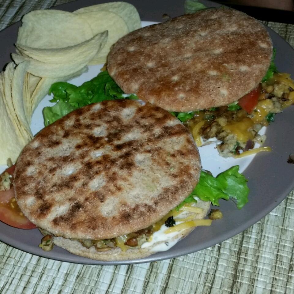 Nut Burgers (Vegetarian)