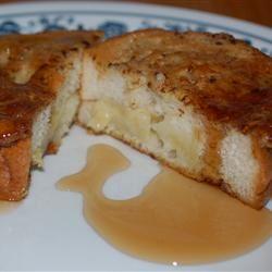 Banana Stuffed French Toast BK