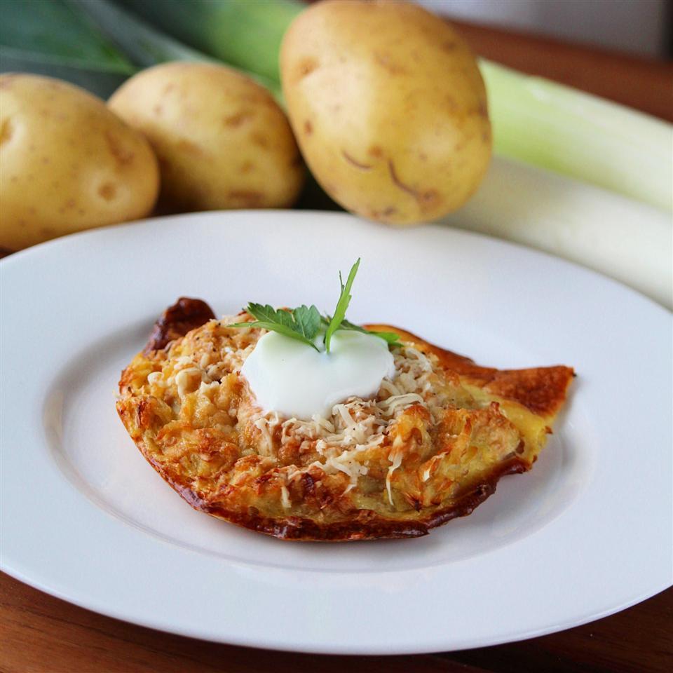Potato Leek Latkes