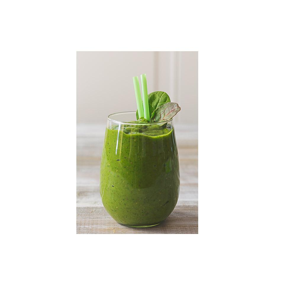Cardamom Chia Green Smoothie