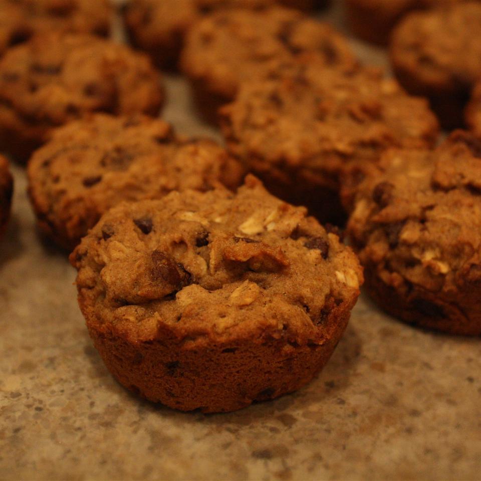 Gluten-Free Choc Chip Oatmeal Muffins