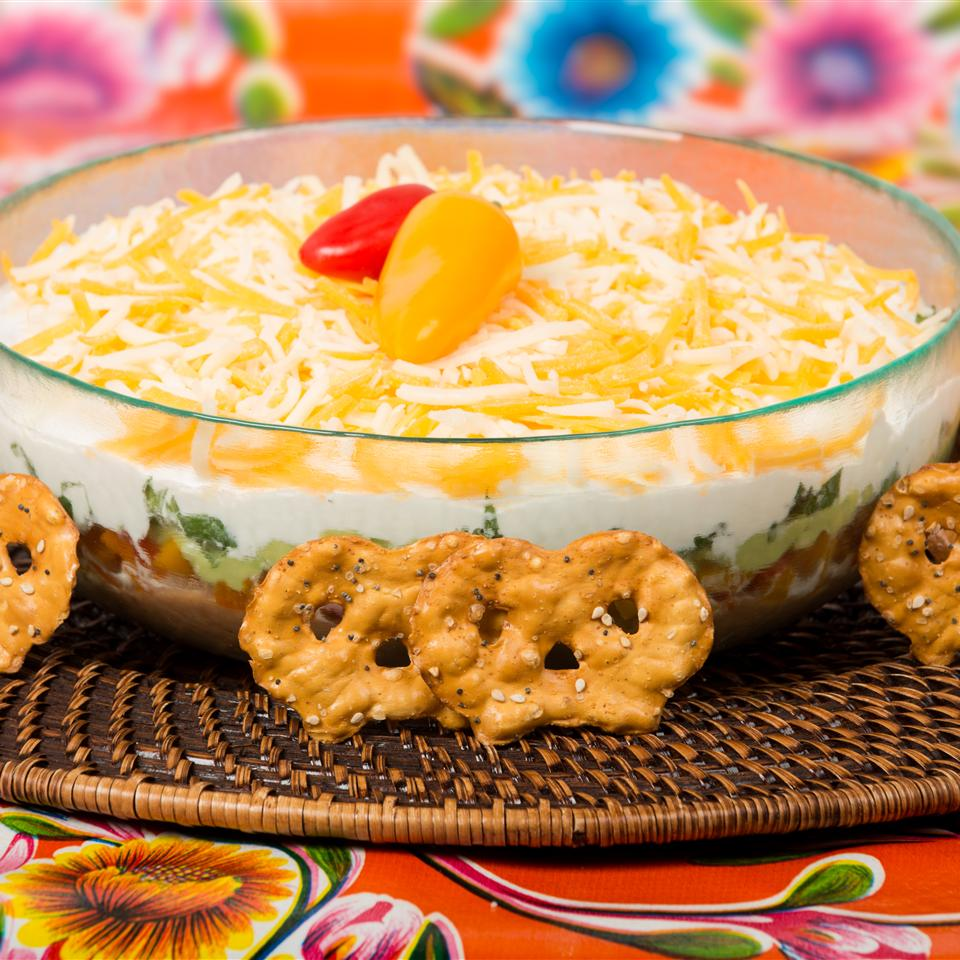 Mexican-Style Layered Dip