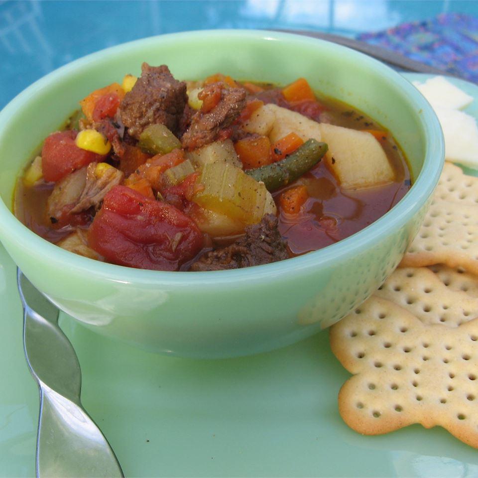 Vegetable Beef Soup II Priscilla