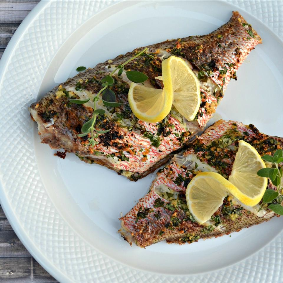 Mediterranean Red Snapper Kim's Cooking Now