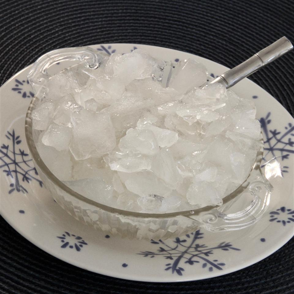 Homemade Crushed Ice